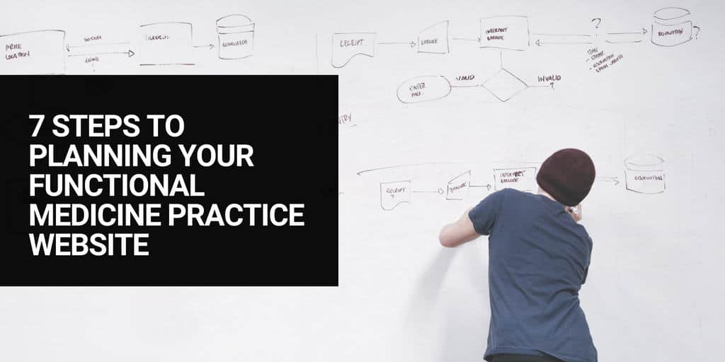 7 Steps to Planning your Functional Medicine Practice Website